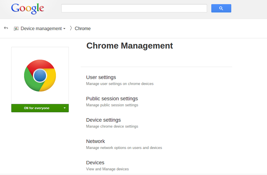 Chrome_Management